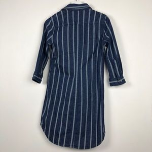 7 For All Mankind Dresses - NWT 7 for all mankind strip denim dress